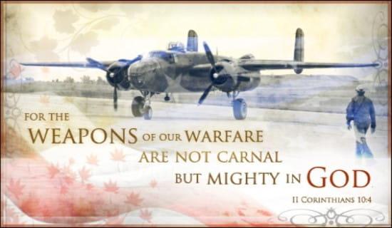 Warfare ecard, online card