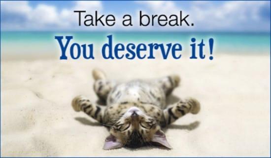 Take A Break ecard, online card