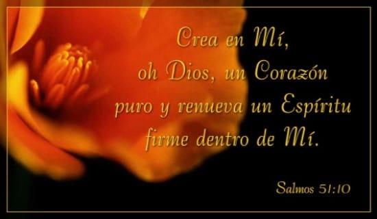 Salmos 51:10 ecard, online card