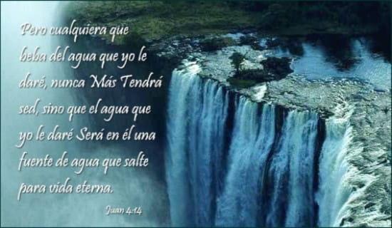 Juan 4:14 ecard, online card