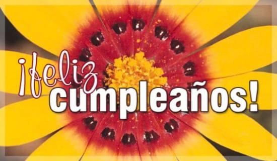 Feliz Cumpleanos ecard, online card