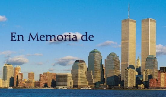 En Memoria de ecard, online card