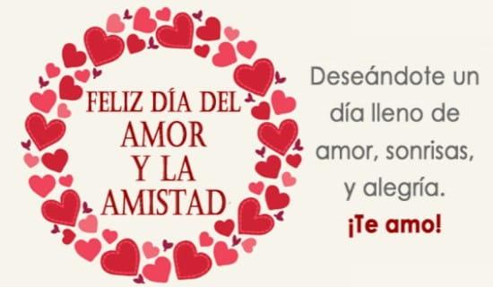 Feliz Día del Amor y la Amistad ecard, online card