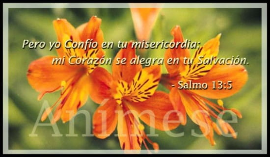 Salmos 13:5 ecard, online card
