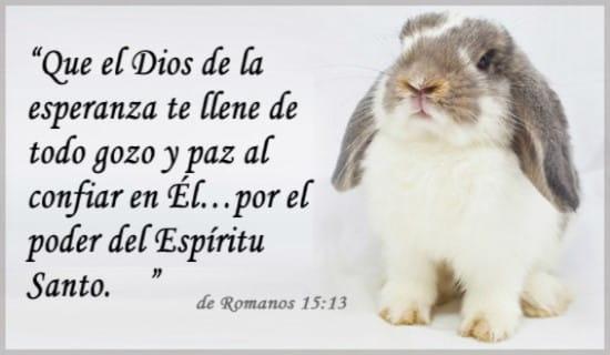 Romanos 15:13 ecard, online card
