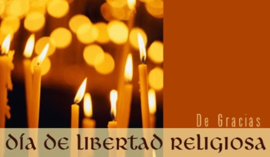 Libertad Religiosa ecard, online card