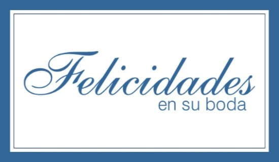 En Su Boda ecard, online card