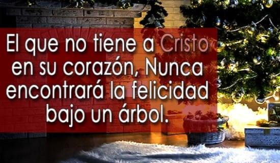 El que no tiene a Cristo en su corazón... ecard, online card