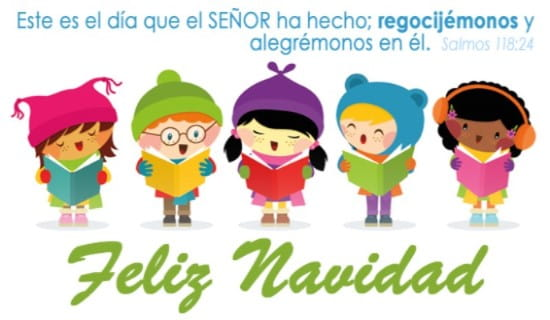 Feliz Navidad ecard, online card
