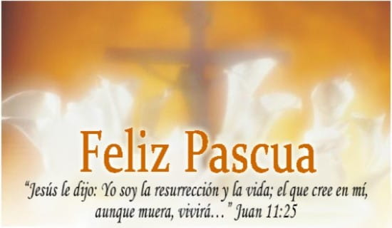 Feliz Pascua ecard, online card