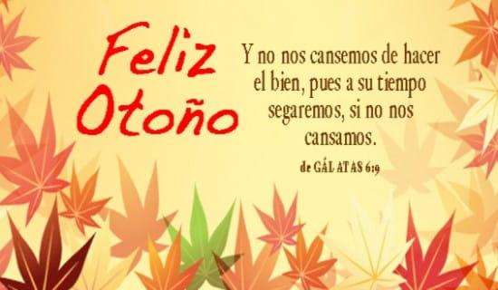 Feliz Otoño ecard, online card