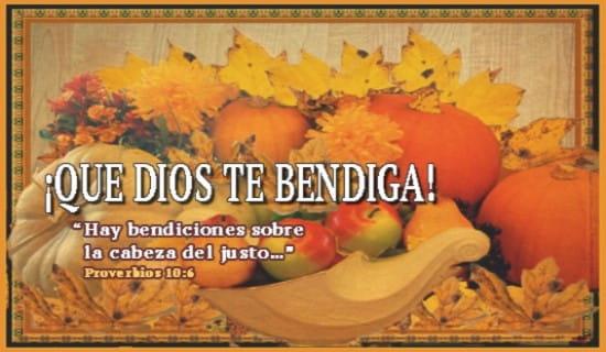 ¡Que Dios te bendiga! ecard, online card