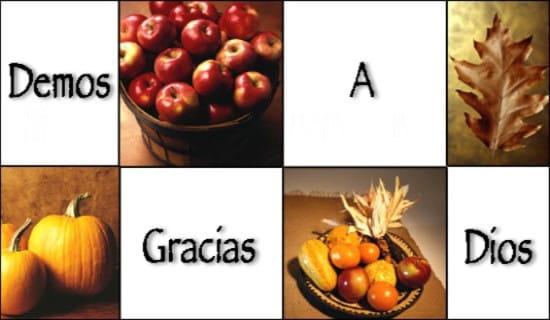 Demos Gracias A Dios ecard, online card