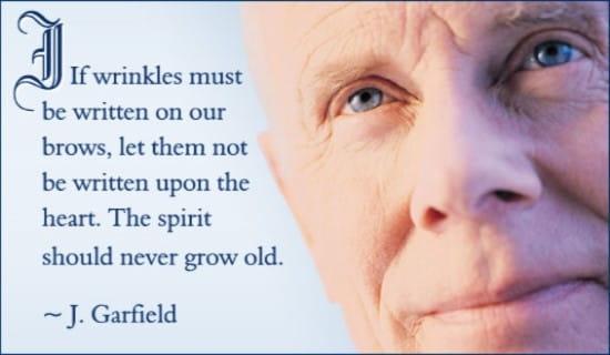 Wrinkles Written ecard, online card