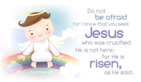 Matthew 28 ecard, online card