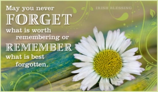 Never Forget ecard, online card