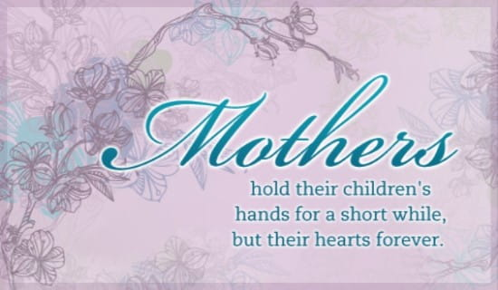 Mothers ecard, online card