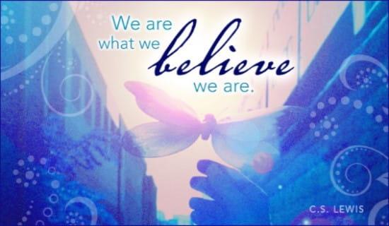 Believe ecard, online card