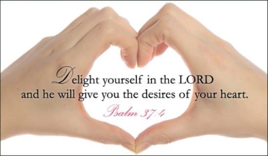 Desires of Your Heart ecard, online card
