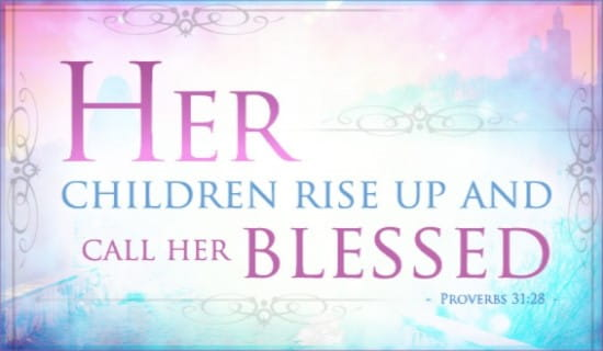 Call Her Blessed ecard, online card