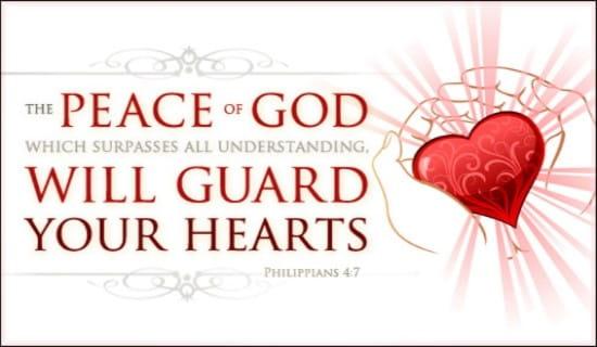 Peace of God ecard, online card