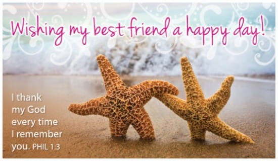 Best Friend Day (6/8) ecard, online card