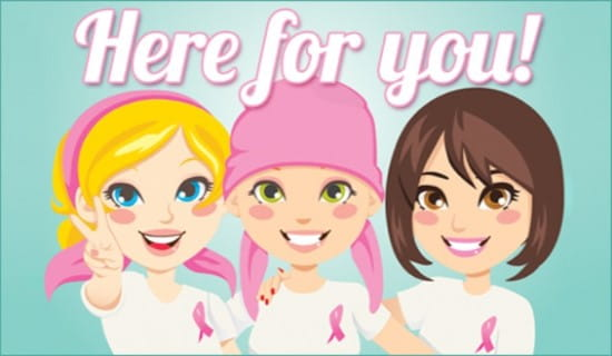 Breast Cancer ecard, online card