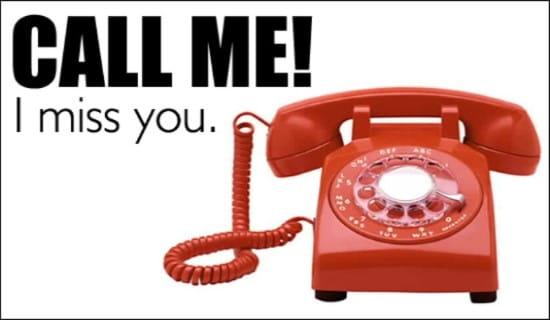 Call Me! ecard, online card