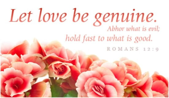 Genuine Love ecard, online card