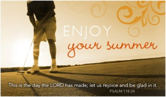 Enjoy Your Summer ecard, online card