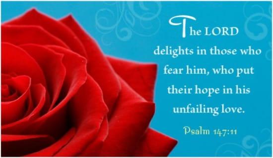 Psalm 147:11 ecard, online card
