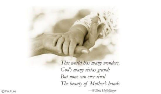 Mother ecard, online card