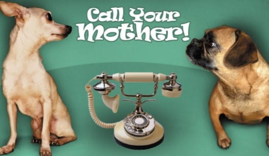 Call Your Mother ecard, online card