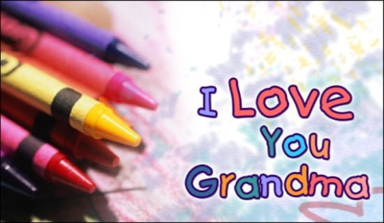 Grandma ecard, online card