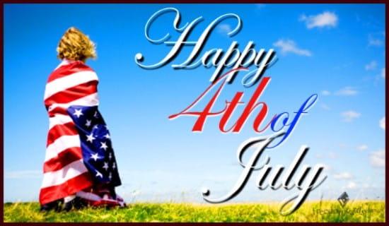 Happy Fourth of July  ecard, online card