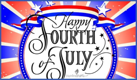 Happy Fourth of July! ecard, online card