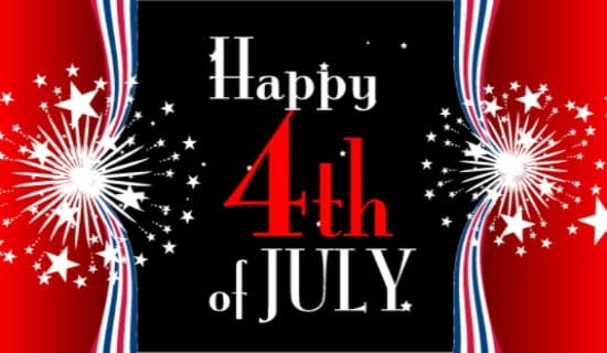 Fourth of July Celebrate ecard, online card