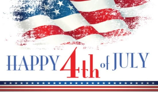 Fourth of July Celebration ecard, online card
