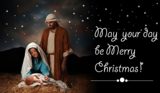 May Your Day Be Merry ecard, online card