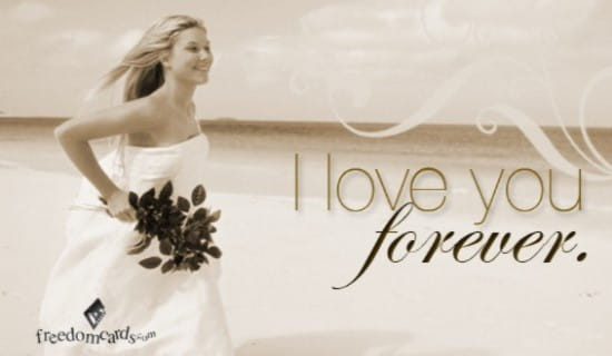 I Love You Forever ecard, online card