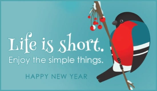 Life is Short ecard, online card