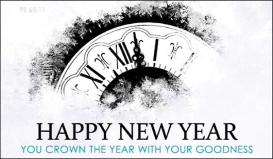 Crown the Year ecard, online card