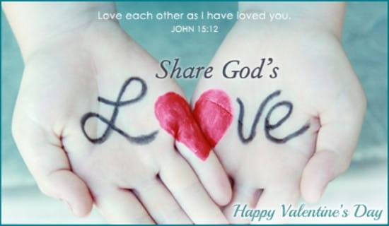 Share God's Love ecard, online card
