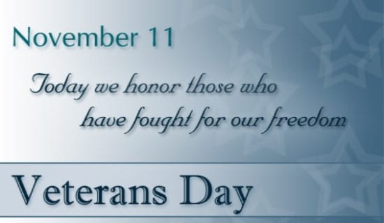 Today We Honor ecard, online card