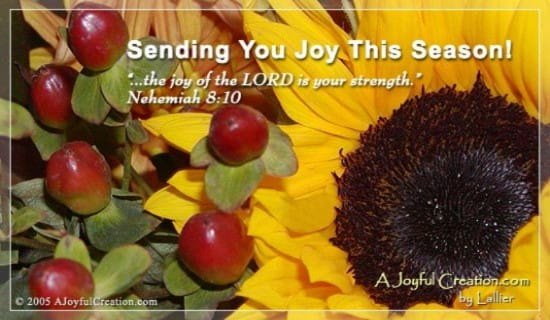 Joy ecard, online card