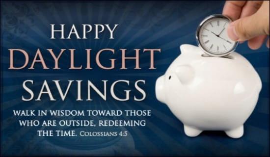 Piggy Bank ecard, online card