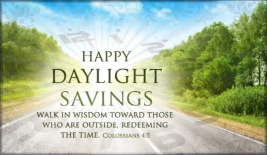 Walk in Wisdom ecard, online card