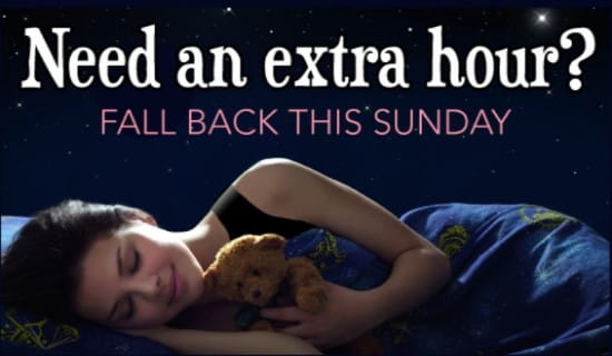 Extra Hour ecard, online card