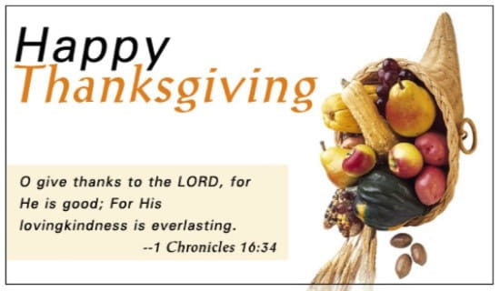Thanksgiving - Chronicles ecard, online card