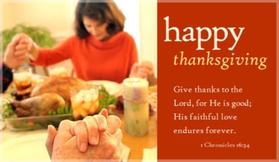 Give Thanks To The Lord ecard, online card